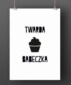 Twarda babeczka cupcake