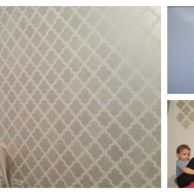 szablon na ściane marokański
