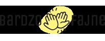 Bardzo Fajne – szablony, plakaty wystrój wnętrz Logo